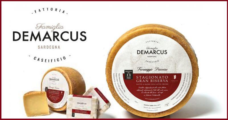 CASEIFICIO DEMARCUS - Offerta vendita online Formaggio Sardo di pecora Gran Riserva stagionato