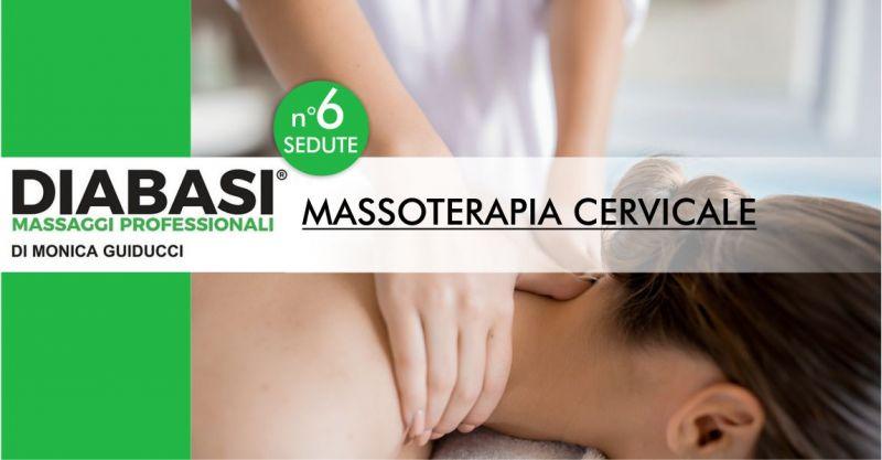 STUDIO DIABASI MONICA GUIDUCCI Nuoro - offerta sei sedute di massoterapia cervicale