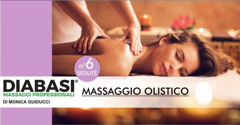 STUDIO DIABASI MONICA GUIDUCCI Nuoro - offerta sei sedute massaggio olistico