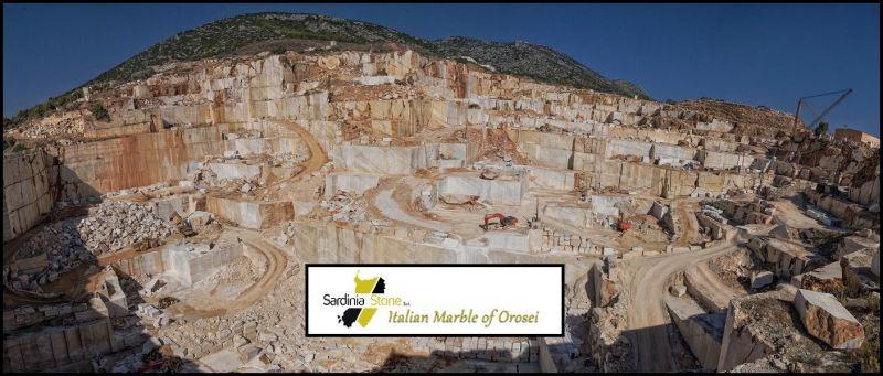 SARDINIA STONE - Найти компанию, специализирующуюся на добыче и продаже мрамора OROSEI italy