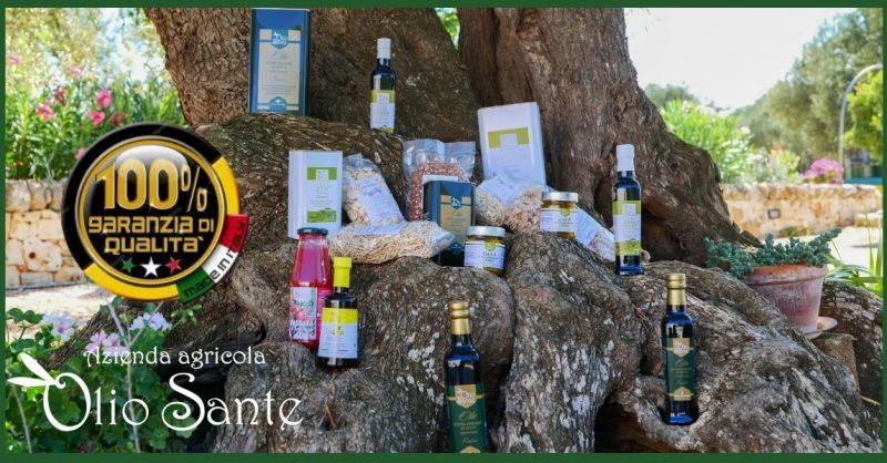 AZIENDA AGRICOLA OLIO SANTE - Olio extravergine monocultivar Alta qualità di Ostuni in offerta