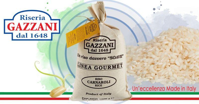 RISERIA GAZZANI - Offerta Vendita online Riso italiano Carnaroli Linea Gourmet
