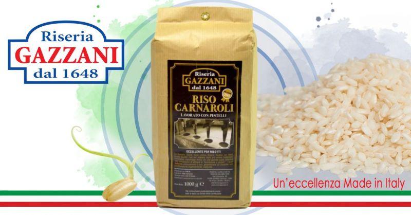 RISERIA GAZZANI - Offerta Vendita online Riso di qualità SELEZIONE ORO LAVORATO CON PESTELLI
