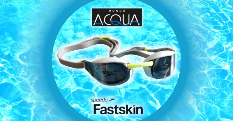 Offerta occhialini Speedo Fastskin Elite Mirror - occasione occhialini da nuoto professionali