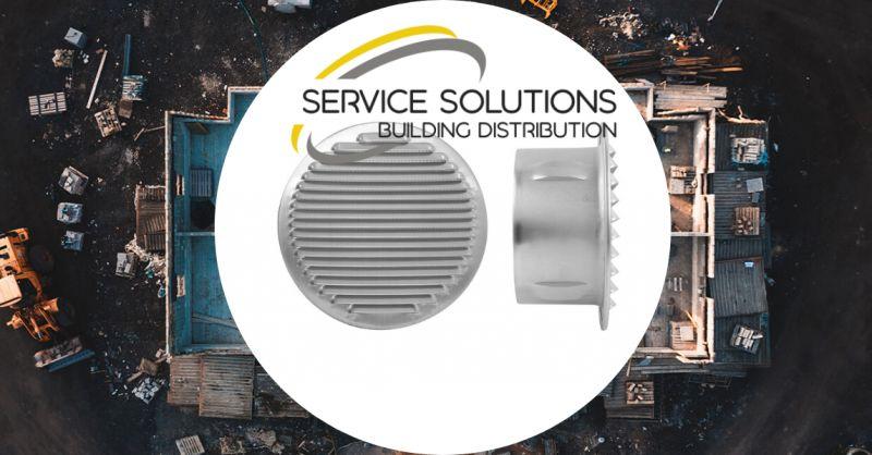 SERVICE SOLUTIONS - offerta vendita GRIGLIA DA INCASSO IN ALLUMINIO ARGENTO AREAZIONE