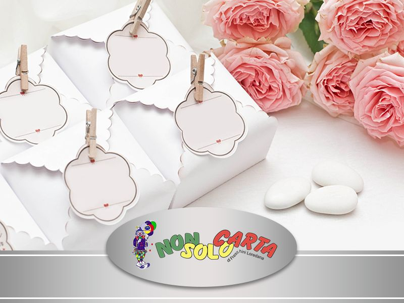 Offerta Bomboniere Ceramica - Promozione Bomboniere Vetro Legno Argento - Non Solo Carta