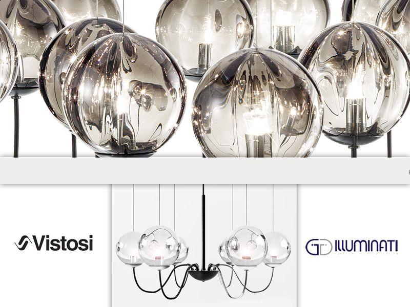 offerta lampade puppet vistosi promozione lampadari design made in italy illuminati