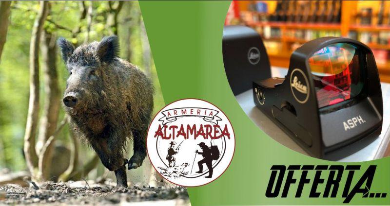 ARMERIA ALTAMAREA - offerta Leica Tempus ASPH  punto rosso con attacco contessa compreso