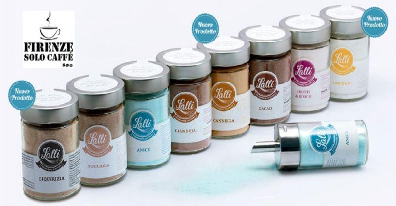 offerta vendita zucchero aromatizzato Firenze - promozione vendita macchine da caffè Firenze