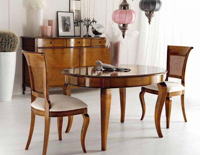 La Credenza Caselle : Credenza due ante con tavolo ovale allungabile in offerta sihappy