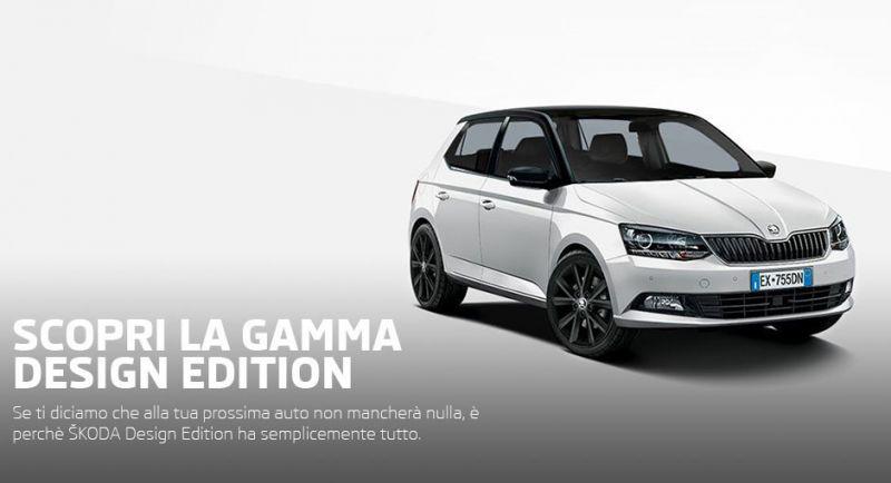 Promozione di Maggio su SKODA Gamma Design Edition  - Cavuoto Automobili