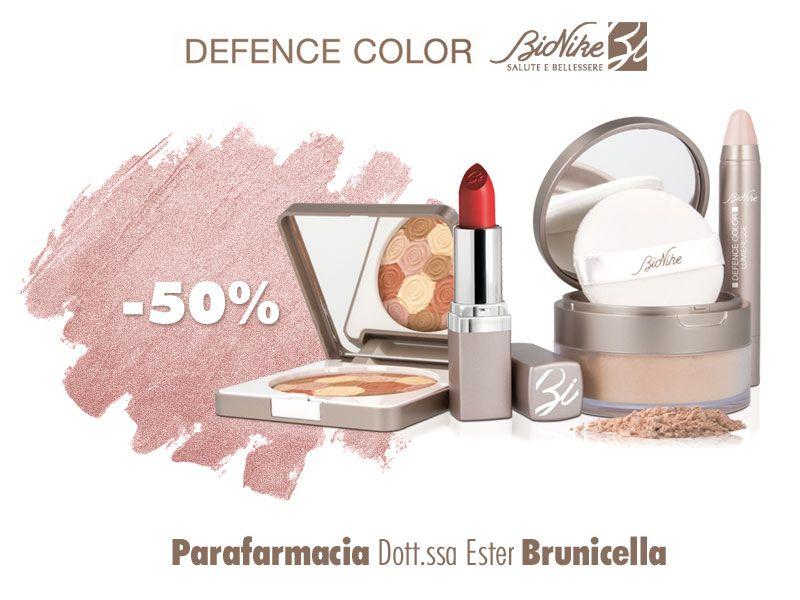 offerta make up bionike defence color - promozione trucco per pelli sensibili
