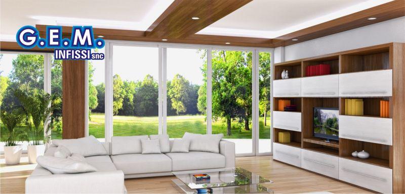 offerta realizzazione e posa finestre in pvc - occasione progettazione infissi G.E.M. infissi