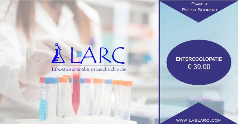 Laboratorio Analisi e Ricerche Cliniche - offerta esami per la diagnosi di enterocolopatie
